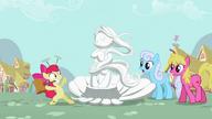 S02E06 Apple Bloom i jej rzeźba