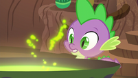 """Spike """"what's brewing in your cauldron?"""" S5E22"""