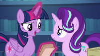 """Twilight """"our trip to the Crystal Empire"""" S6E1"""