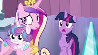 Twilight Sparkle shocked S6E2