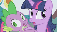 "Twilight and Spike ""we're...gonna..."" S1E03"
