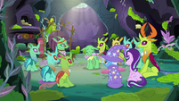 Green Changeling sharing with the forum S7E17