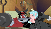 "Lord Tirek ""no, he didn't"" S9E8"