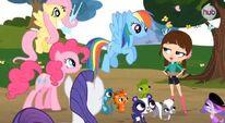 My Little Pony Littlest Pet Shop crossover promo 2012-11-10