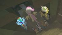 Ponies push down the temple door S9E21