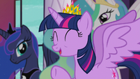 """Princess Twilight """"we're so excited to have you here"""" S5E10"""