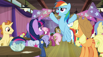 """Rainbow """"I am gonna rule this game!"""" S9E16"""