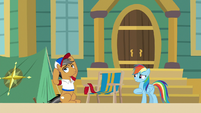 "Rainbow Dash ""fancy meeting me?"" S9E6"