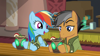 "Rainbow Dash ""so glad I ran into you"" S6E13"