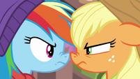 Rainbow Dash vs. Applejack BGES1