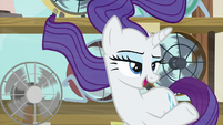 """Rarity """"other ponies might need to see it"""" S7E19"""