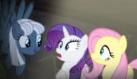 S05E01 Night Glider mówi do Rarity i Fluttershy