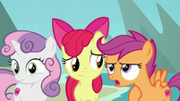 """Scootaloo """"which was not my fault!"""" S8E6"""