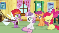 Spike talking to the CMC S3E11