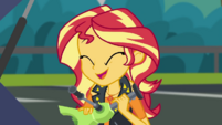 Sunset Shimmer giggling happily CYOE5b