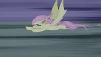 Flutterbat flying away S4E07