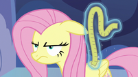 Fluttershy looking very annoyed S7E14