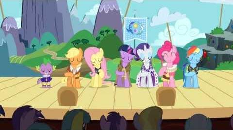 MLP_FiM_Music_The_Heart_Carol_(A_Circle_of_Friends)_HD
