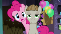 """Pinkie Pie """"where does it say that?"""" S8E3"""