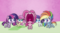 Pinkie Pie screams with excitement PLS1E1a