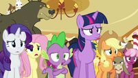 Ponyville ponies agreeing with Twilight S6E15