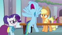 "Rainbow ""they're gonna think I'm an egghead!"" S8E1"