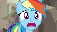 Rainbow Dash shocked to see Dr. Caballeron S7E18