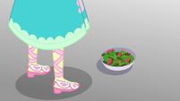 Salad bowl at Fluttershy's feet EGROF
