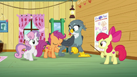 Scootaloo singing --you are here to find your purpose-- S6E19