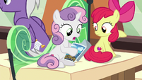 Sweetie Belle -I don't know if I'd like- S8E6