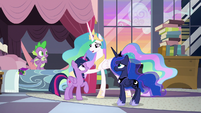 """Celestia """"you and your friends have proven"""" S9E17"""