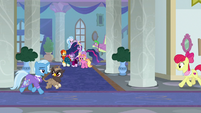 Counselor Trixie with young griffon student S9E26