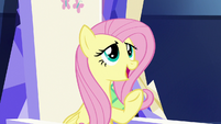 """Fluttershy """"wanted to leave room for all of you"""" S7E14"""