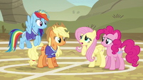 """Fluttershy """"we're too afraid of letting ponies down"""" S6E18"""