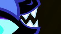 Nightmare Moon's fangs close-up S5E13