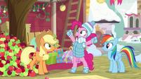 Pinkie Pie declares herself the winner BGES1