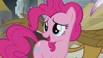 "Pinkie explains ""the map didn't send us here"" S5E8"
