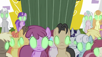 Ponyville and Canterlot ponies Sombrafied S9E2