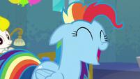 "Rainbow Dash ""all the time!"" S6E7"