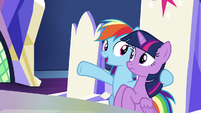 """Rainbow Dash """"it was all just training"""" S9E1"""
