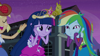 "Rainbow Dash ""so awesome"" face EG"