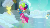 Rainbow Dash enters the Wonderbolts barracks S7E23