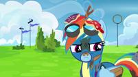 Rainbow Dash feeling humiliated S6E7