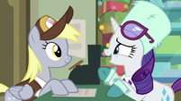 """Rarity """"it's a gift for Applejack"""" MLPBGE"""