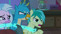 Sandbar -could threaten Equestria!- S8E25