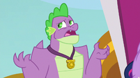 """Spike """"hard to do that without friends"""" S9E26"""