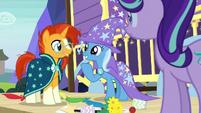 Sunburst and Trixie best of friends S7E24