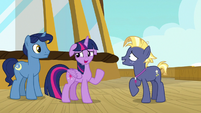 "Twilight Sparkle ""I guess you should come with us"" S7E22"