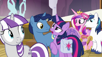 "Twilight Sparkle ""that was an assertive welcome"" S7E22"