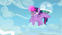 Twilight Sparkle about to use her magic S5E26
